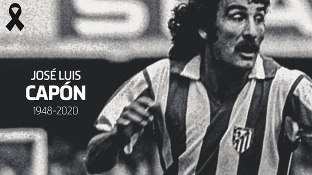 Fallece José Luis Capón por coronavirus, histórico lateral del Atlético de Madrid