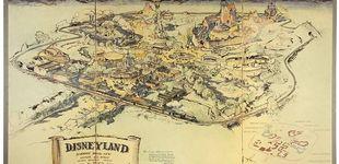 Post de El primer mapa de Disneyland, a subasta por casi un millón de dólares
