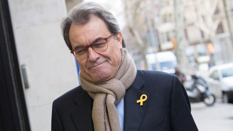 El Supremo notifica a Artur Mas que le investiga por el 1-O