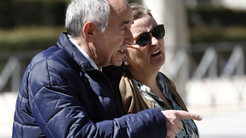 Miguel Ángel Fernández Ordóñez, exgobernador del Banco de España, en la Audiencia