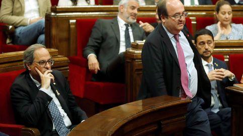 El Constitucional admite a trámite el recurso de Iceta contra el bloqueo del Parlament