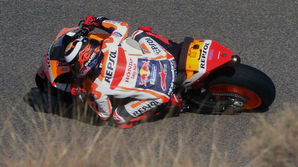 Foto: Jorge Lorenzo durante el pasado GP de Aragón. (EFE)