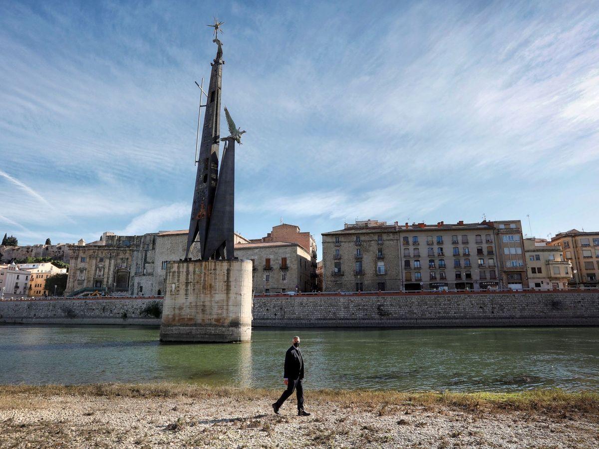 Foto: El polémico monumento. (EFE)