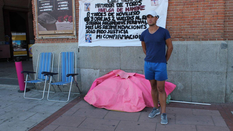 8 días de huelga de hambre para torear en Las Ventas: O me dan fecha o al hospital