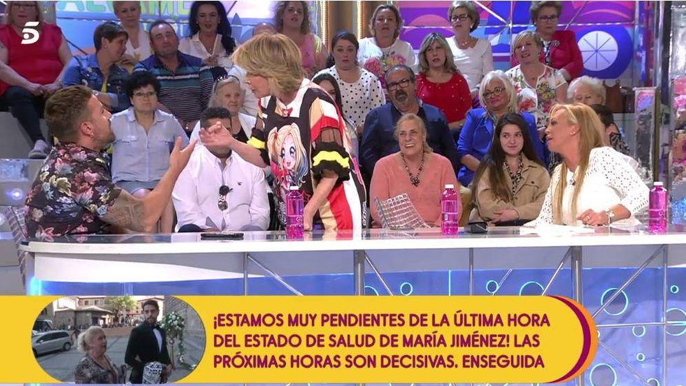 Foto: Mila reprocha a Rafa Mora sus palabras. (Mediaset)