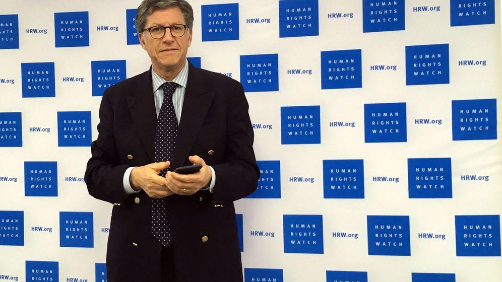 Foto: José Miguel Vivanco, director ejecutivo de Human Rights Watch en América. (EFE)
