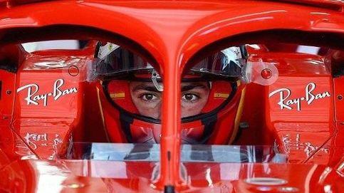 Que bella la macchina rossa.... Carlos Sainz ya vive la magia de Ferrari, y en italiano