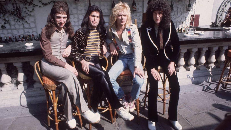 Queen en 1976 (Getty)