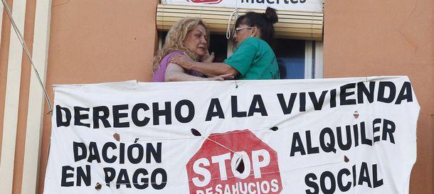 Foto: Avalistas al borde del desahucio, armas legales para frenar la ejecución hipotecaria