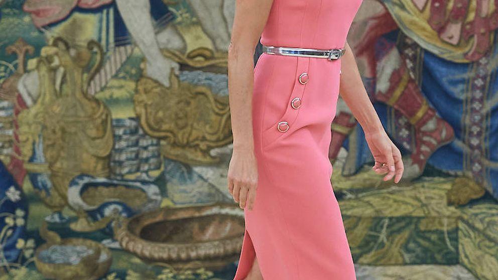 La reina Letizia, Melania Trump y el vestido de la disKORSdia