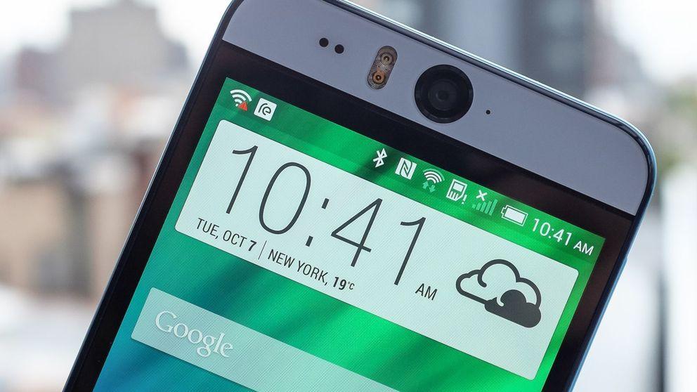 HTC Desire Eye: no has visto una cámara frontal semejante