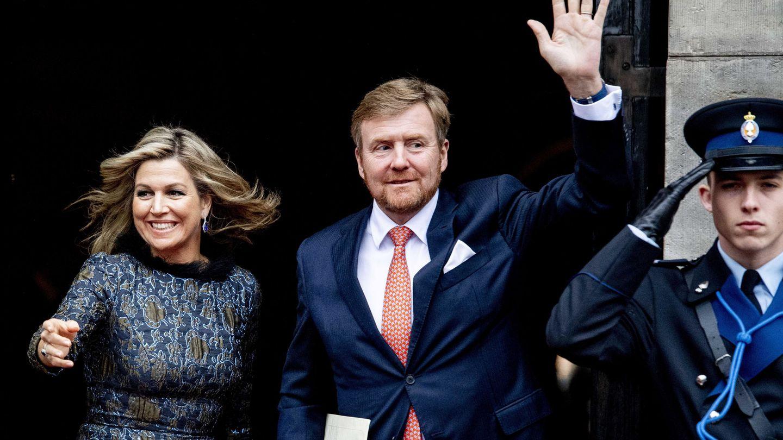 Los reyes de Holanda, en una imagen reciente. (EFE)