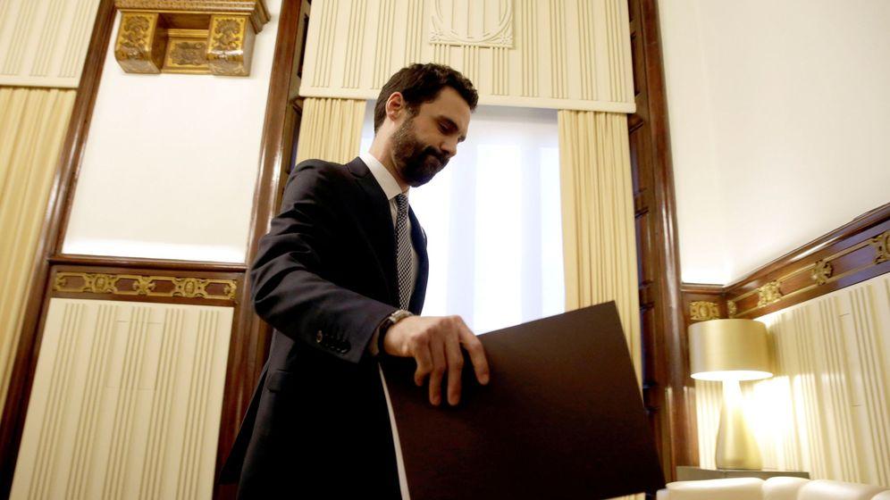 Foto: El presidente del Parlament, Roger Torrent (ERC). (EFE)