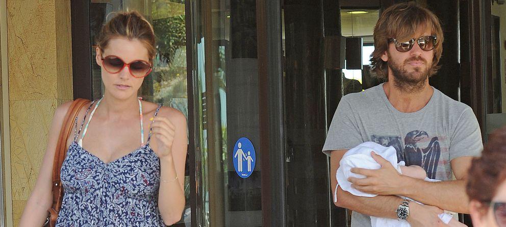 Foto: Amaia y Rosauro el psado mes de junio en Marbella (Gtres)