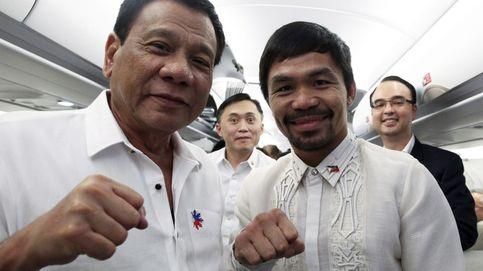 El boxeador filipino Pacquiao, elegido presidente del partido político de Duterte