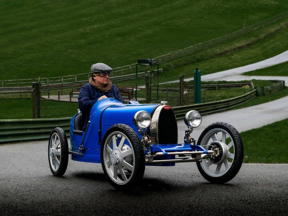 Foto: Bugatti Baby II un capricho pensado para adolescentes o para adultos de talla pequeña.