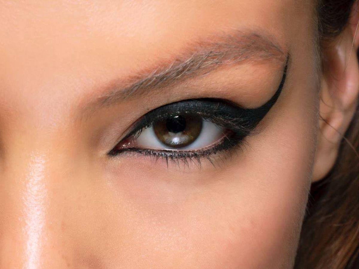 Foto: Un delineado inferior y superior muy pigmentado. (Getty)Imaxtree