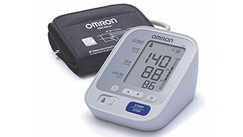 Tensiómetro Omrom para controlar la tensión en el brazo