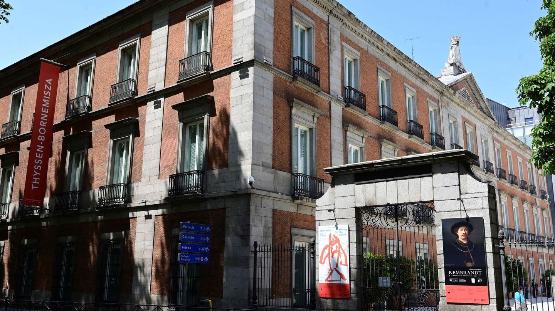 Fachada del Museo Thyssen de Madrid. (EFE)