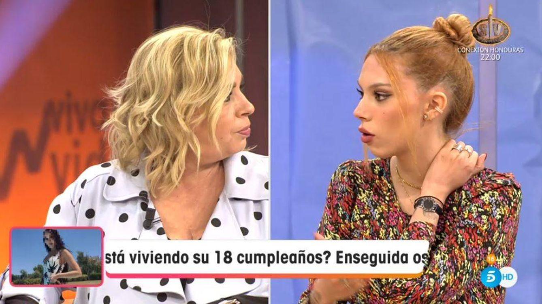 'Viva la vida'   Emma reaviva la guerra de Carmen Borrego y Alejandra: No la apoyas