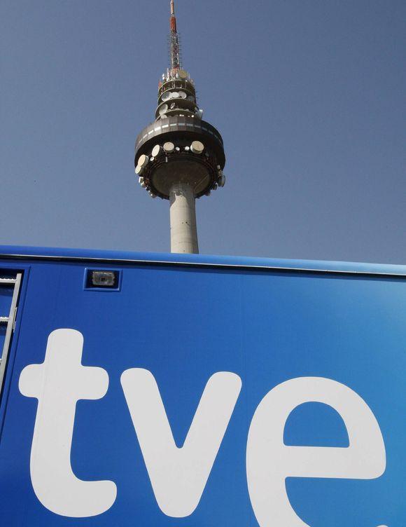 Foto: El Pirulí, centro de comunicaciones de RTVE. (EFE)