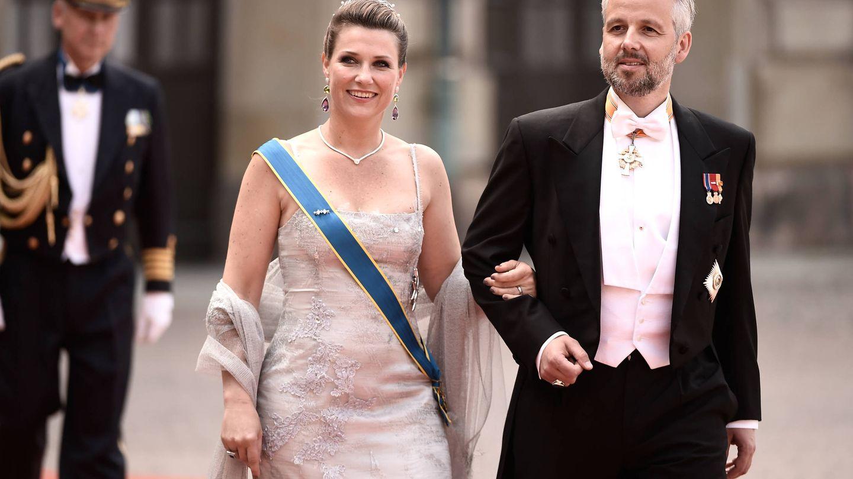 Marta Luisa y Ari, durante su etapa de casados. (Getty)