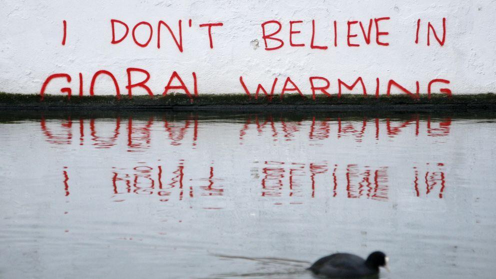 Los negacionistas del cambio climático: Hombres conservadores y no españoles