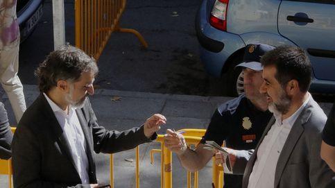 La Audiencia Nacional confirma que Sànchez y Cuixart siguen en la cárcel