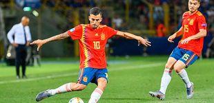 Post de España Sub 21 en directo frente a Alemania en la final del Europeo