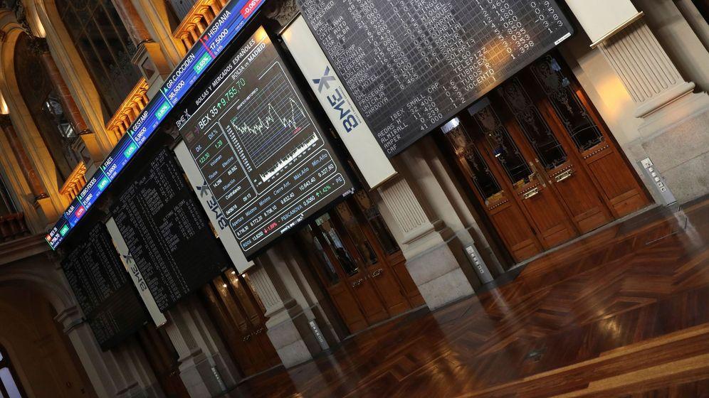 Foto: Imagen de la Bolsa de Madrid. (Efe)