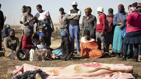El rey zulú pide calma mientras las protestas se suceden en Sudáfrica