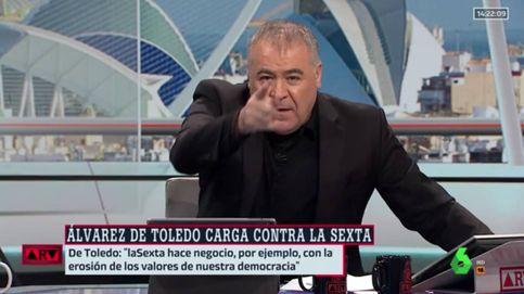 Antonio García Ferreras responde al ataque de Cayetana Álvarez de Toledo