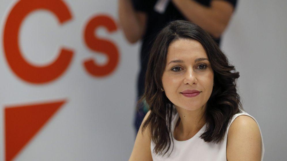 Foto: La portavoz nacional de Ciudadanos y jefa de la oposición en el Parlament, Inés Arrimadas. (EFE)