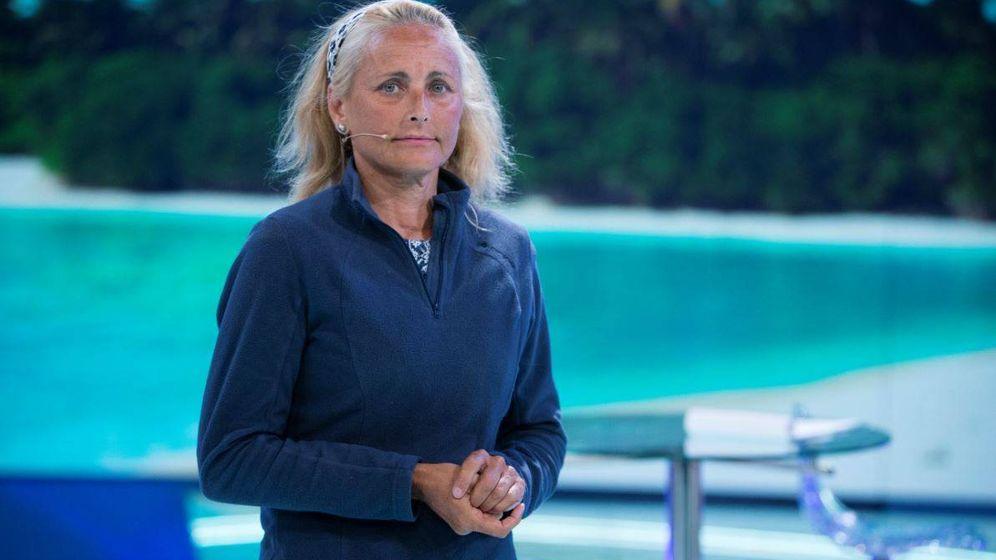 Foto: Lucía Pariente a su regreso de 'Supervivientes'. (Gtres)