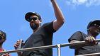El espectáculo de un 'contento' Marc Gasol en la celebración de los Raptors