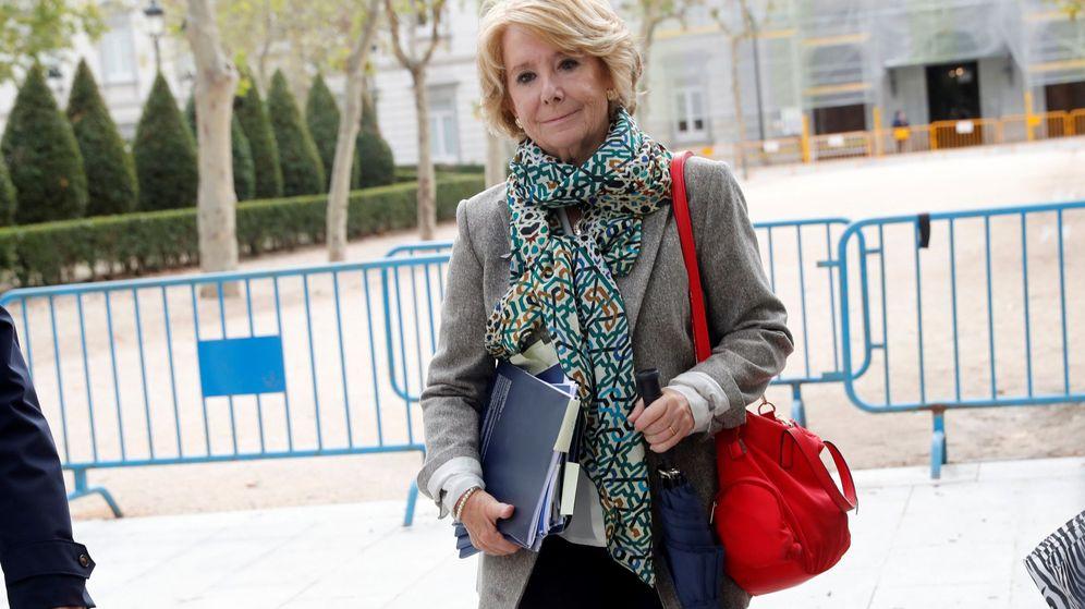 Foto: La expresidenta madrileña y exdirigente del PP de Madrid Esperanza Aguirre. (EFE)