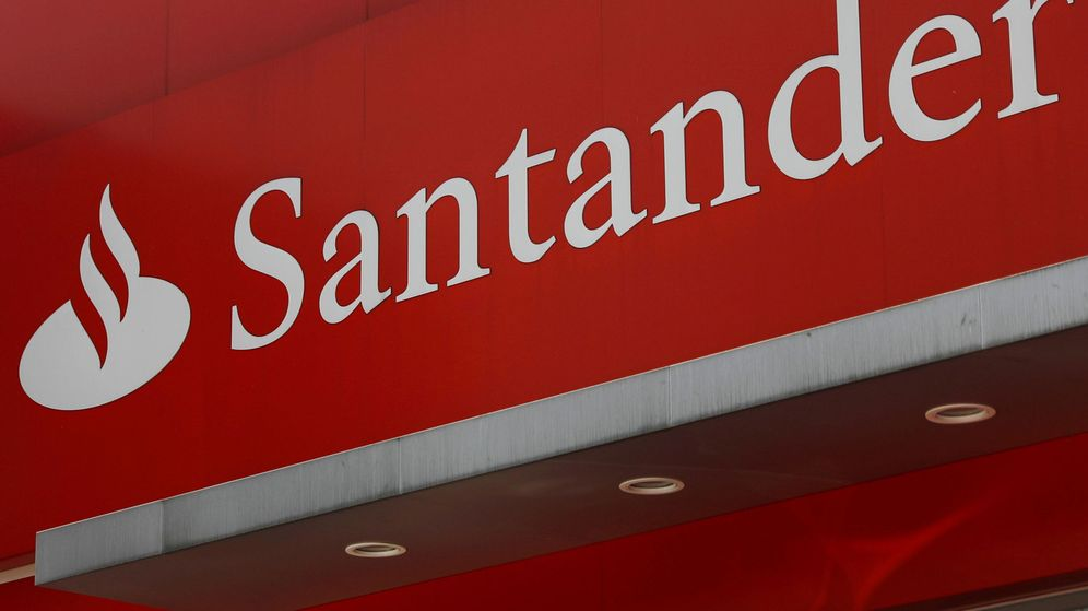 Foto: Logo del Banco Santander. (Reuters)