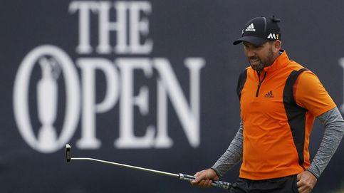 Sergio García y Rafa Cabrera Bello, lejos de la lucha por el British Open