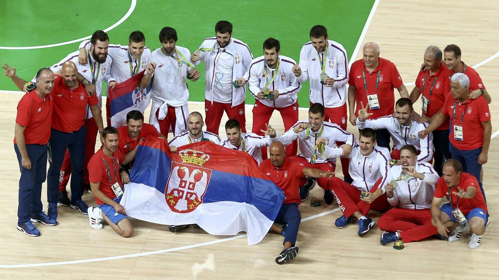 Foto: Serbia llega al EuroBasket con siete bajas con respecto a los Juegos Olímpicos, donde ganó la plata. (Reuters)
