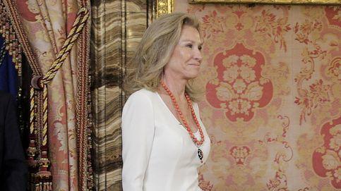 Más madera: Alicia Koplowitz se sienta junto al duque de Alba en la boda de su hijo
