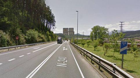 Muere un joven de 25 años en un accidente de tráfico en Igorre, Vizcaya