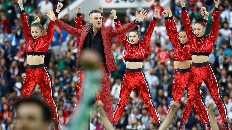 Putin saca músculo y artificios en la inauguración del Mundial de Rusia