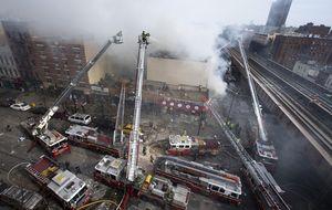 Mortal explosión de gas en Manhattan