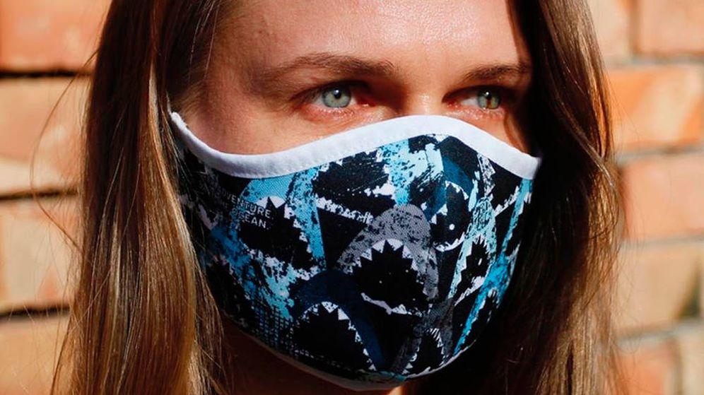Foto: Cada mascarilla reutilizable se vende a 20,40 dólares en la tienda de PADI (Foto: Facebook)