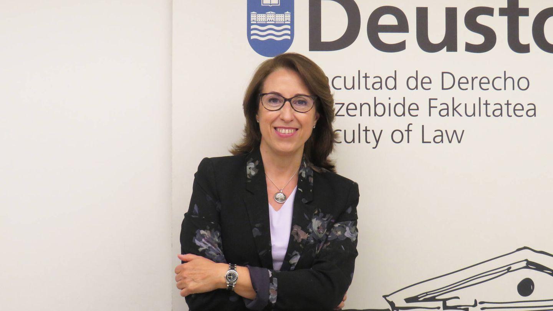 Gema Tomás, decana de la Facultad de Derecho de la Universidad de Deusto.