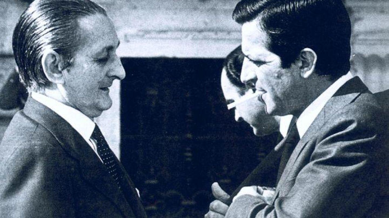 Torcuato fernández Miranda y Adolfo Suárez