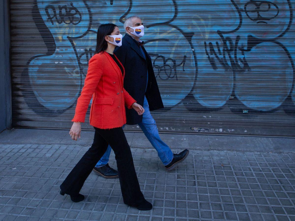 Foto: Inés Arrimadas y Carlos Carrizosa. (EFE)