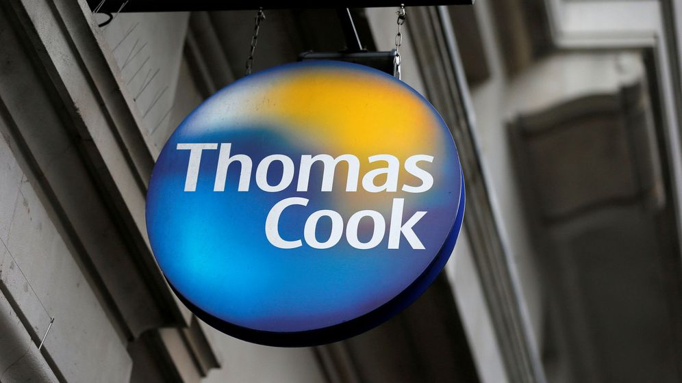 Foto: El logo de Thomas Cook. (Reuters)