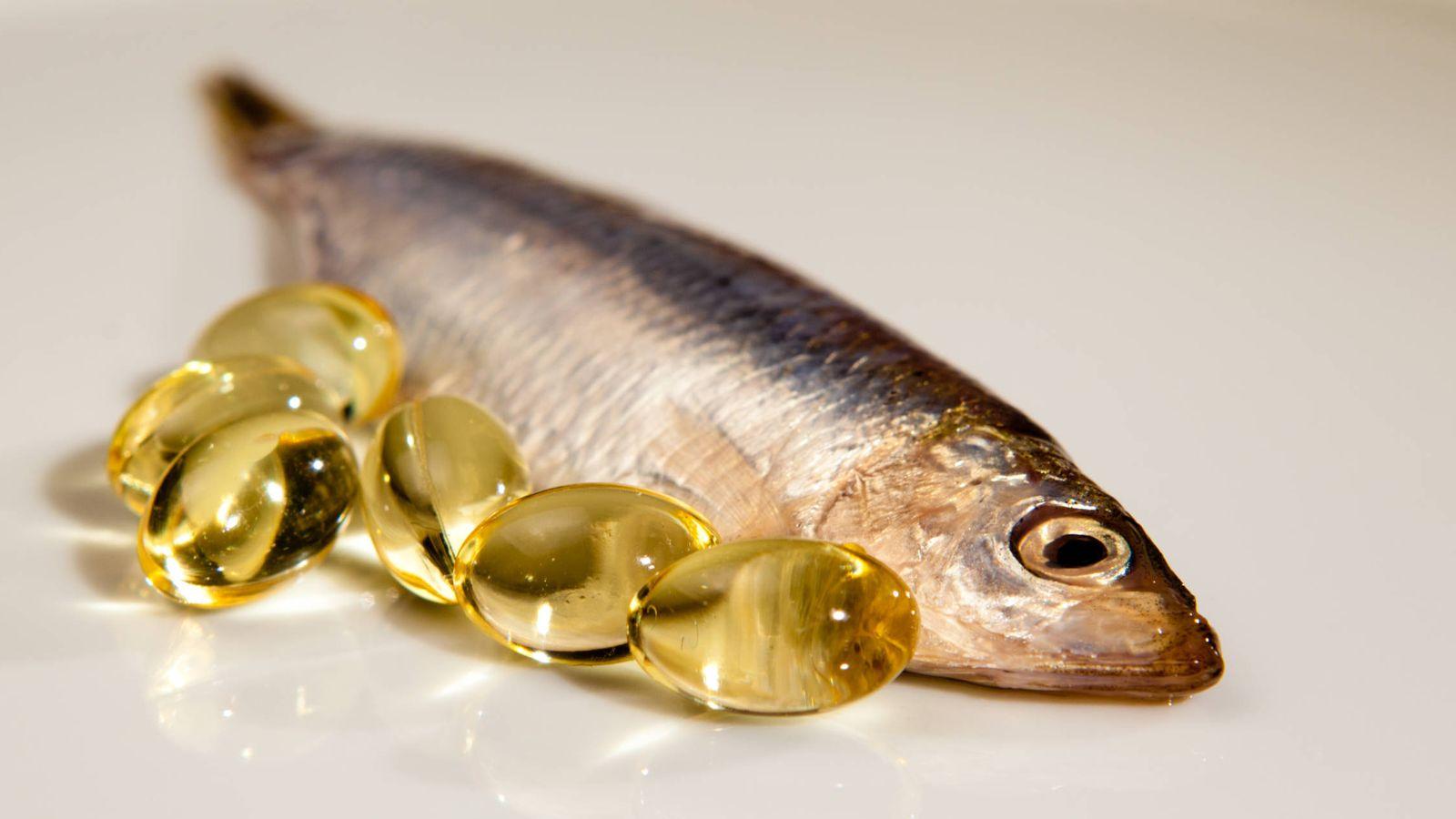 Foto: Capsulas de aceite de pescado. (iStock)