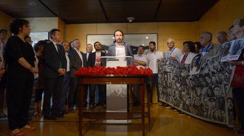 Homenaje paralelo de Podemos a víctimas de Franco en el 40 aniversario de las elecciones